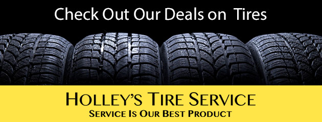 Holleys Tire Service Savings