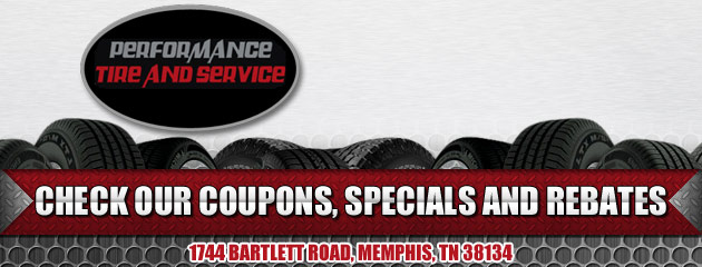 Performance Tire and Service Savings