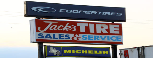 Jacks Tire Sales & Service Location