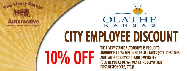 City Emplotee Discount