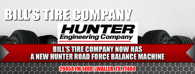 Bills Tire Company Hunter Road Force Balance