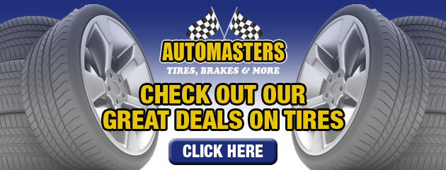 Auto Masters Tire Savings