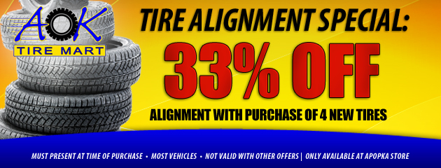 33% Off Alignment