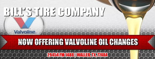 Bills Tire Company Valvoline Oil Changes