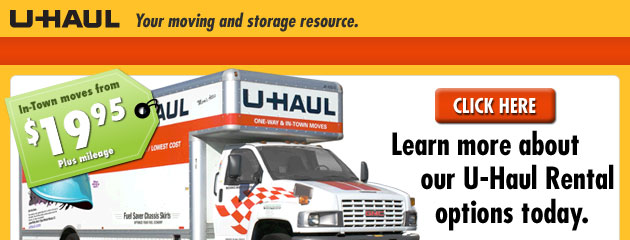 Uhaul discount coupons 2018