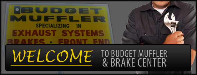 Welcome to Budget Muffler