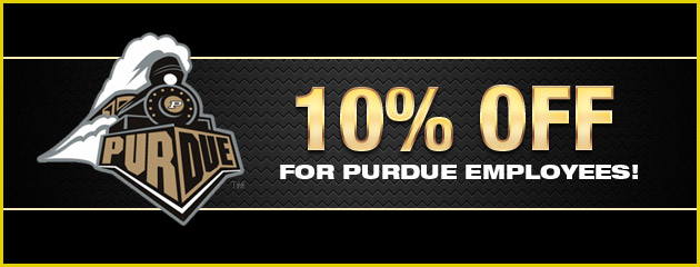 10% Off for Purdue Employees