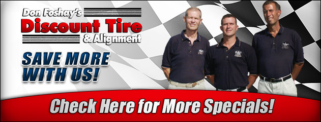 Don Foshay S Discount Tire Alignment Tires Auto Repair Maine