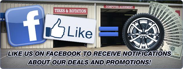 Pierce Tire Facebook Savings