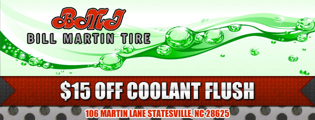 $15 OFF Coolant Flush