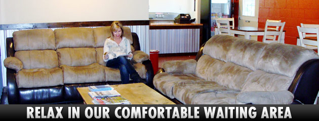 Comfortable Waiting Area