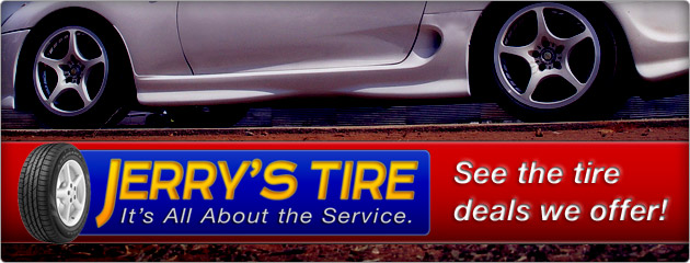 Save More at Jerrys Tire