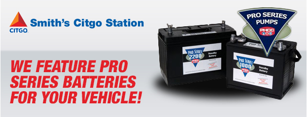 We carry pro batteries!