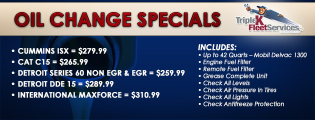 Power Units Specials :: Triple K Fleet Services Inc