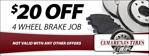 $20 Off 4 Wheel Brake Job