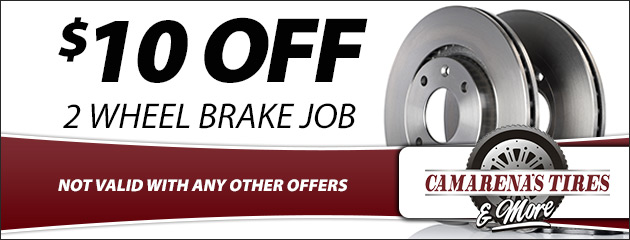 $10 Off 2 Wheel Brake Job
