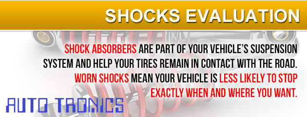 Shocks Evaluation