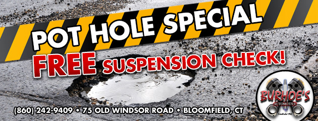 Pothole & Suspension Checks