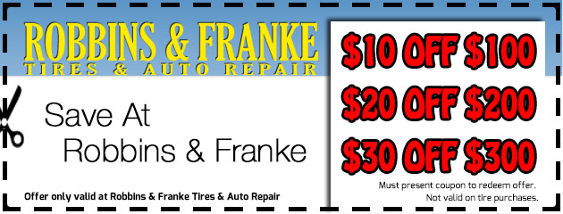 Save at Robbins & Franke