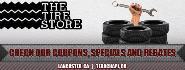 The Tire Store Tehachapi Ca Lancaster Ca Tires Auto Repair Shop