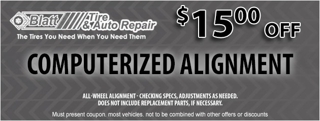 Computerized Alignment - $15 off