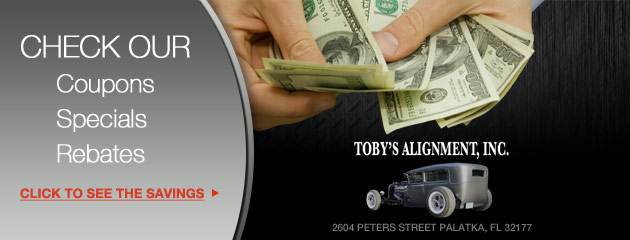 Toby Alignment Inc Savings