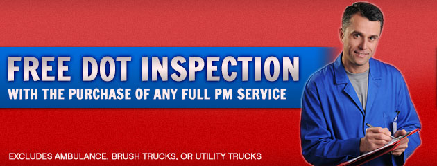 Free DOT Inspections