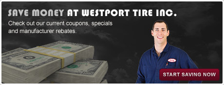 Westport Tire Center - Default Coupon