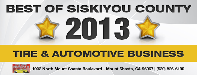 Best of SIskiyou County 2013