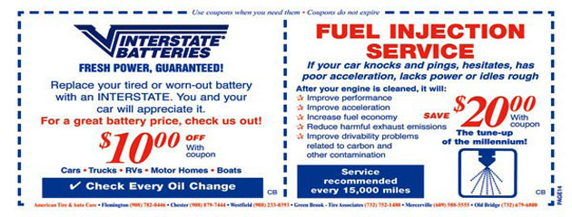 Interstate Batteries Fuel Injection Service