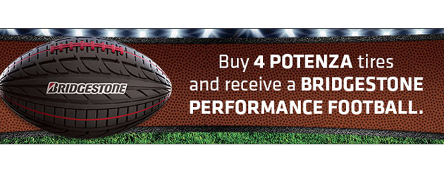 Bridgestone Football Rebate