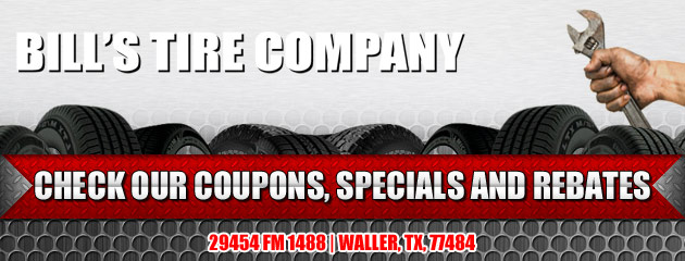 Bills Tire Company Savings