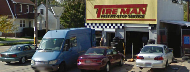 Tireman Usa Fast Pit Stop Service Shop Cleveland Oh Tires