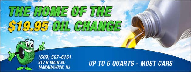 Home of the $19.95 Oil Change Coupon