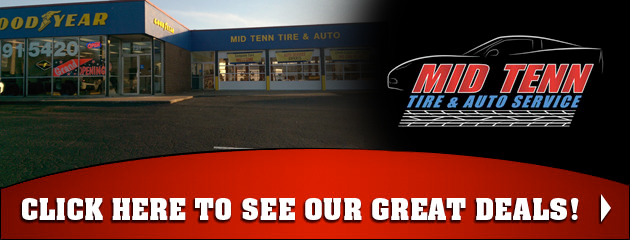 Mid Tenn Tire & Auto Service Savings