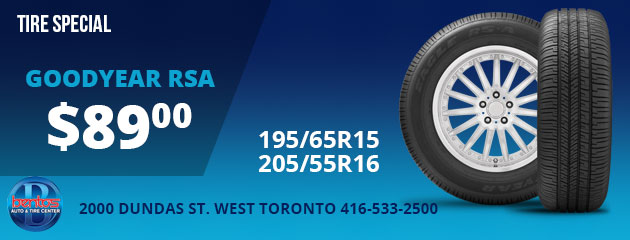 Goodyear RSA Tire Sale
