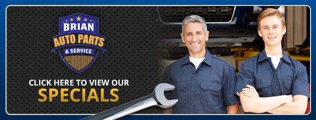 Brian Auto Parts and Service Savings