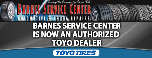 We Now Sell Toyo Tires