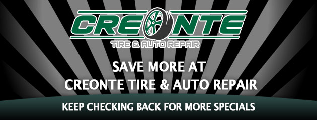 Creonte Tire & Auto_Coupon Specials