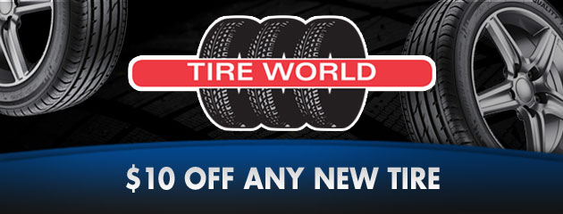 $10 Off Any Tire