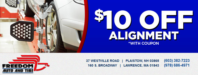 $10 off an alignment
