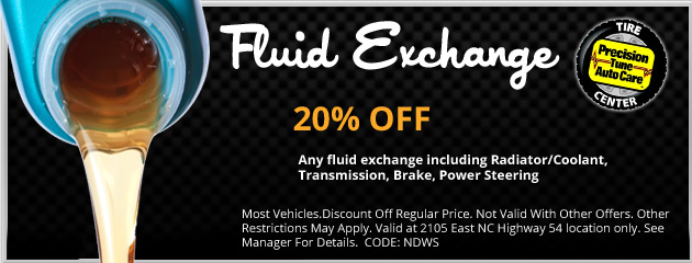20% Off Fluid Exchange