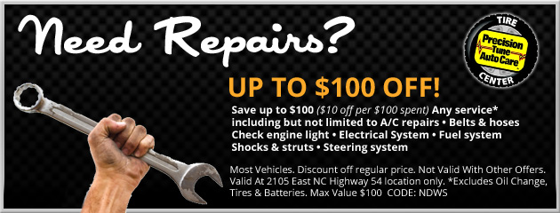 Save Up To $100 On Repairs