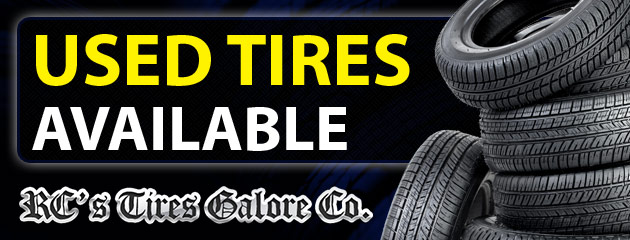 We Now Carry Used Tires