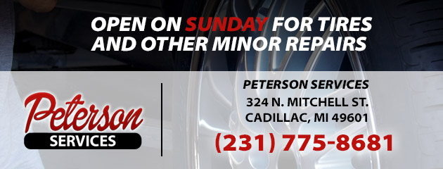 Open Sunday for Repairs