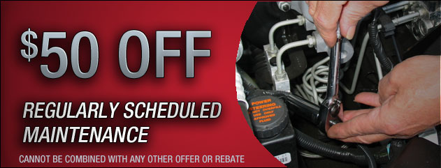 $50 Off Maintenance