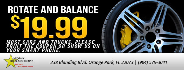 Tires Coupons All Starz Tire Automotive