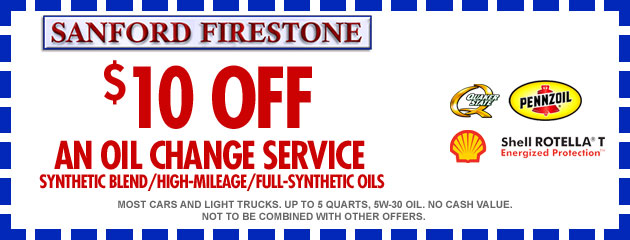 $10.00 Off Any Oil Change Service