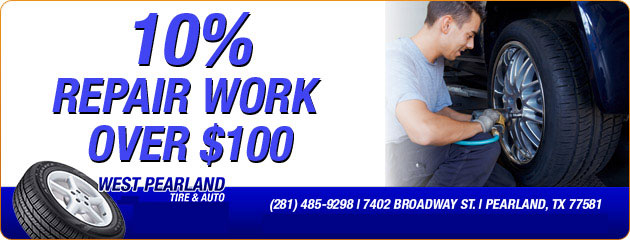 10% Off Repair Work Over $100