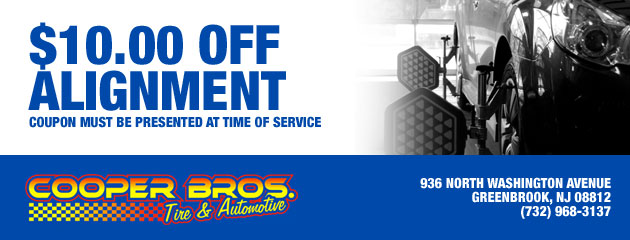 $10.00 Off Alignment